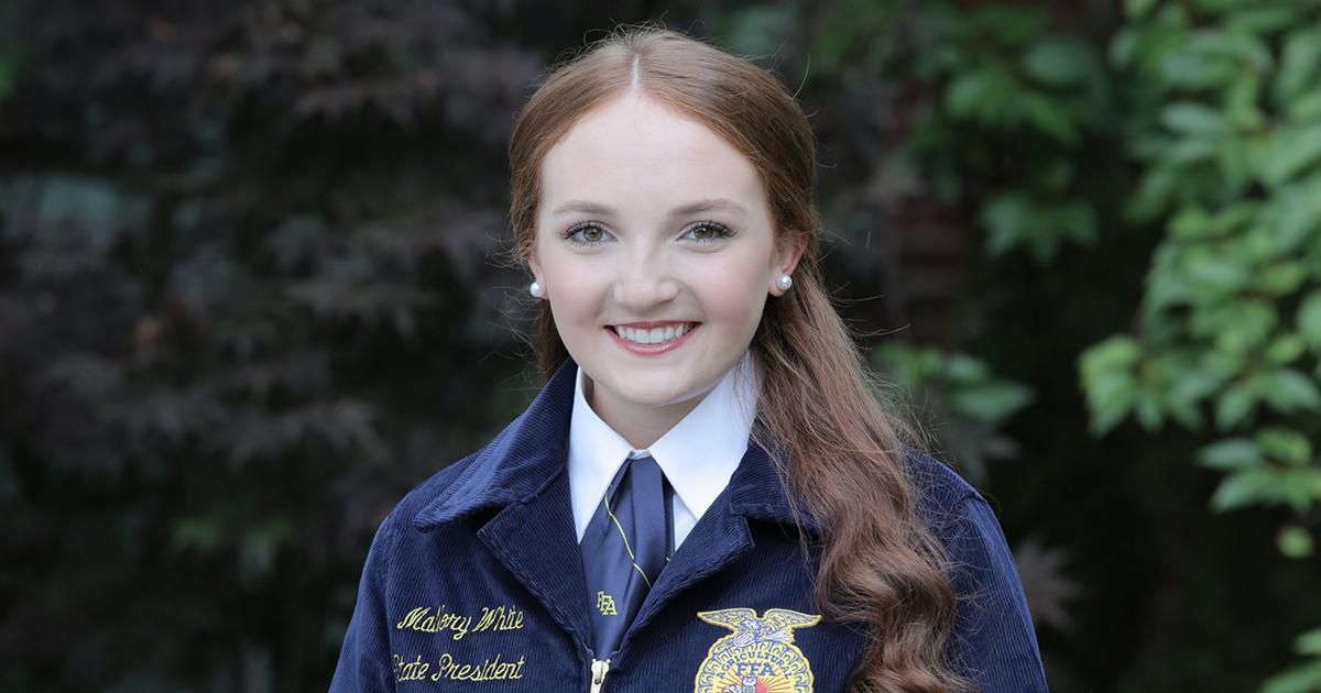 -2021 Kentucky FFA President Mallory White