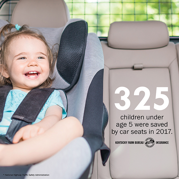 A Parent S Guide To Car And Booster Seats Kentucky Farm Bureau