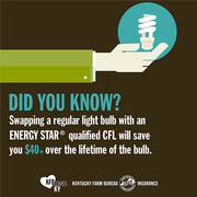 CFL bulb disposal tip 3