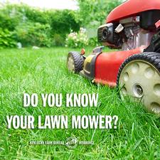 lawn mower safety tip