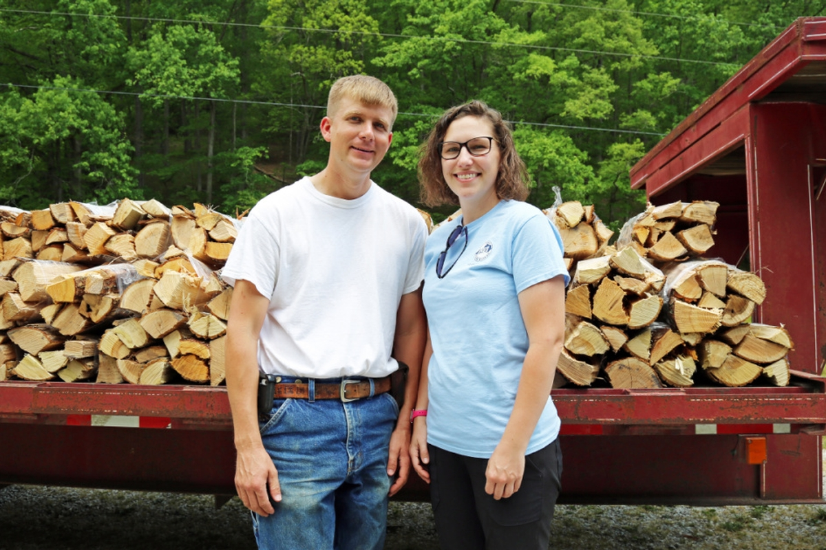Fostering Healthier Forests :  Wolfe County Farmers Put Conservation First in Local Firewood Business