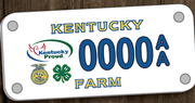 Voluntary 'Ag Tag' donations amounted to $611,743 in 2020, Total to Be Divided Among 4-H, FFA, KDA