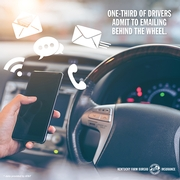How can phones combat distracted driving?