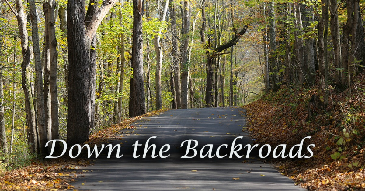 Down the Backroads:  The First Day of School