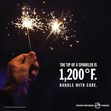 fireworks safety tip