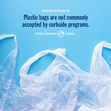 Curbside recycling tip