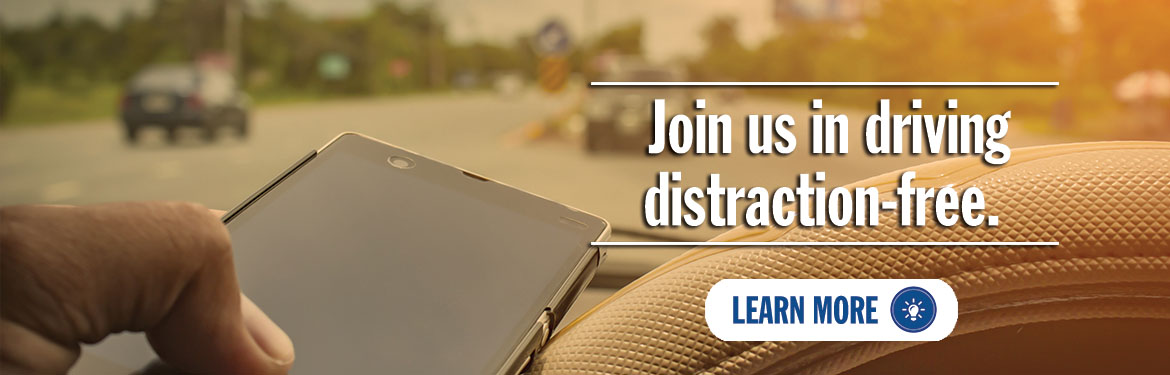 Join us in driving distraction-free