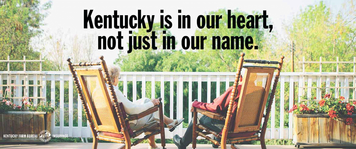 Kentucky Farm Bureau Insurance: Kentucky is in our heart, not just in our name.